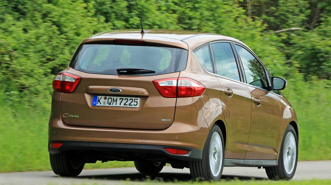 Ford C-MAX 1.0 Ecoboost, Heckansicht