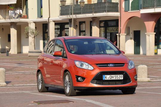 Ford C-Max 1.6 Ecoboost, Fronansicht