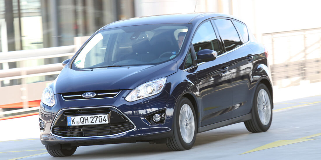 Ford C-Max 1.6 Ecoboost, Frontansicht