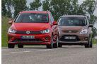 Ford C-Max 1.6 Ecoboost, VW Golf Sportsvan 1.4 TSI, Frontansicht