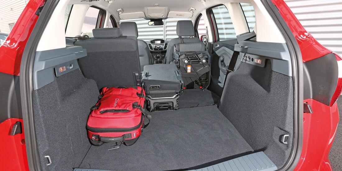 Ford C-Max 1.6 TDCi, Kofferraum, Ladefläche