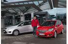 Ford C-Max 2.0 TDCi, Opel Meriva 1.6 CDTI,