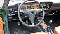 Ford Capri 2600 GT, Cockpit, Lenkrad
