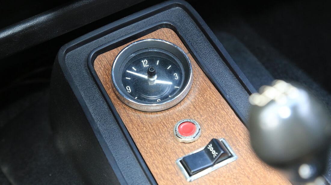 Ford Capri I, Mittelkonsole