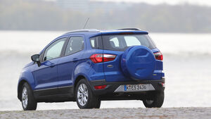 Ford Ecosport 1.0 Ecoboost, Heckansicht