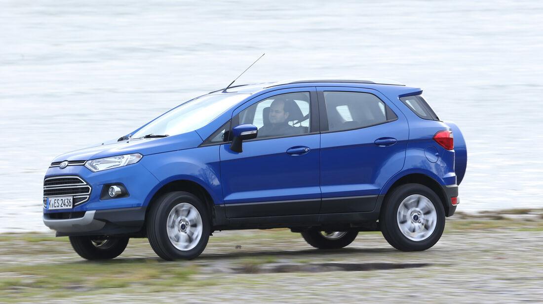 Ford Ecosport 1.0 Ecoboost, Seitenansicht