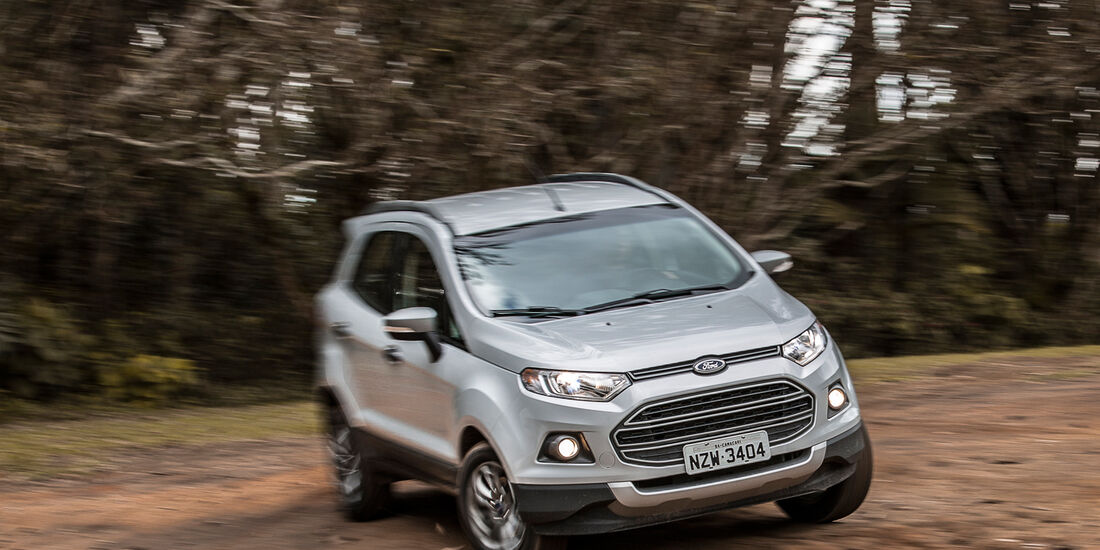 Ford Ecosport 2.0, Frontansicht