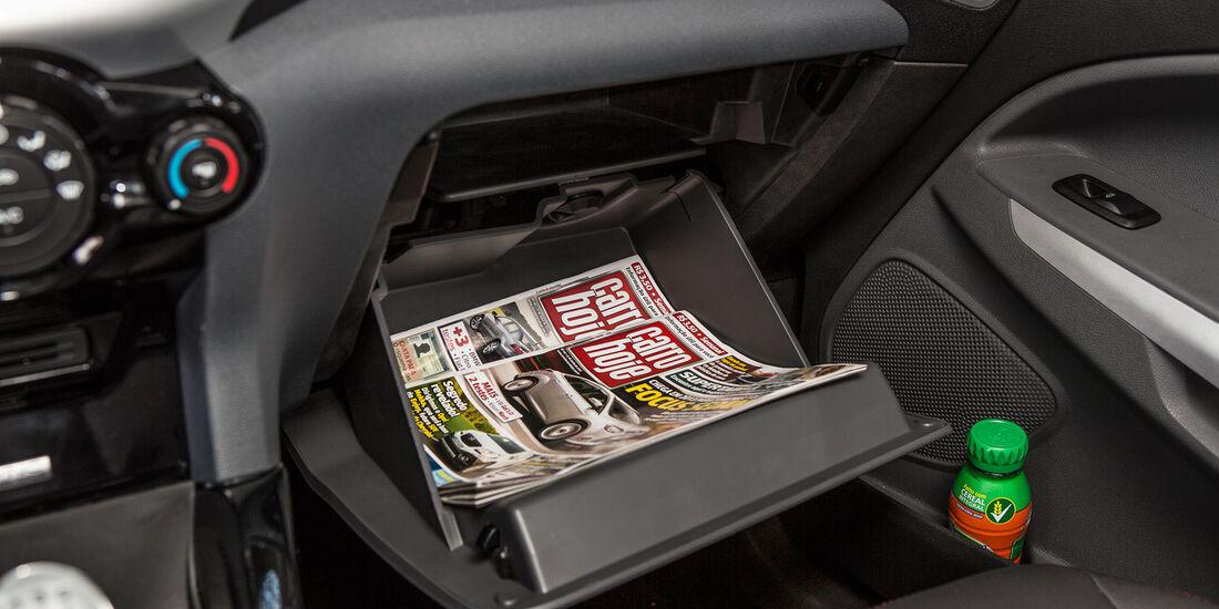Ford Ecosport 2.0, Handschuhfach