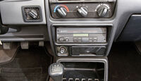 Ford Escort 1.6 XR3i Cabriolet, Mittelkonsole