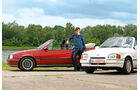 Ford Escort 1.6 XR3i Cabriolet, Opel Kadett E 2.0 GSi Cabriolet, Michael Eiden