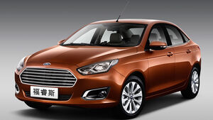 Ford Escort Auto China 2014