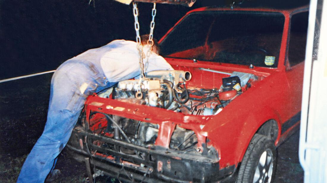 Ford Escort RS 1600i, Motor