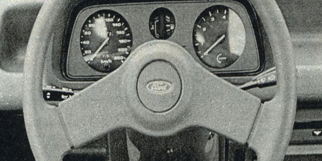 Ford, Escort XR2, IAA 1981