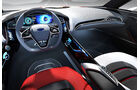 Ford Evos Concept IAA 2011, Innenraum, Cockpit
