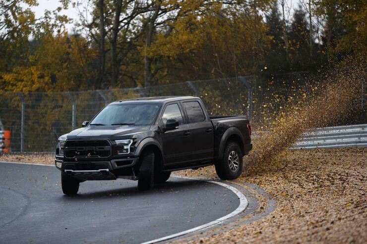 ford f-150 raptor eskaliert: pickup-drifts auf der nordschleife