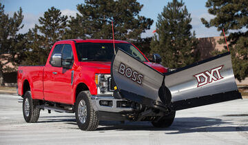 Ford F-350 Snowplow