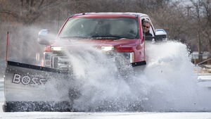 Ford F-350 Snowplow