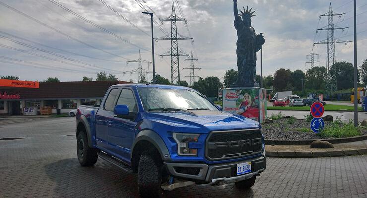 Ford F 150 Raptor Fahrbericht 2017