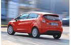 Ford Fiesta 1.0 Ecoboost, Heckansicht