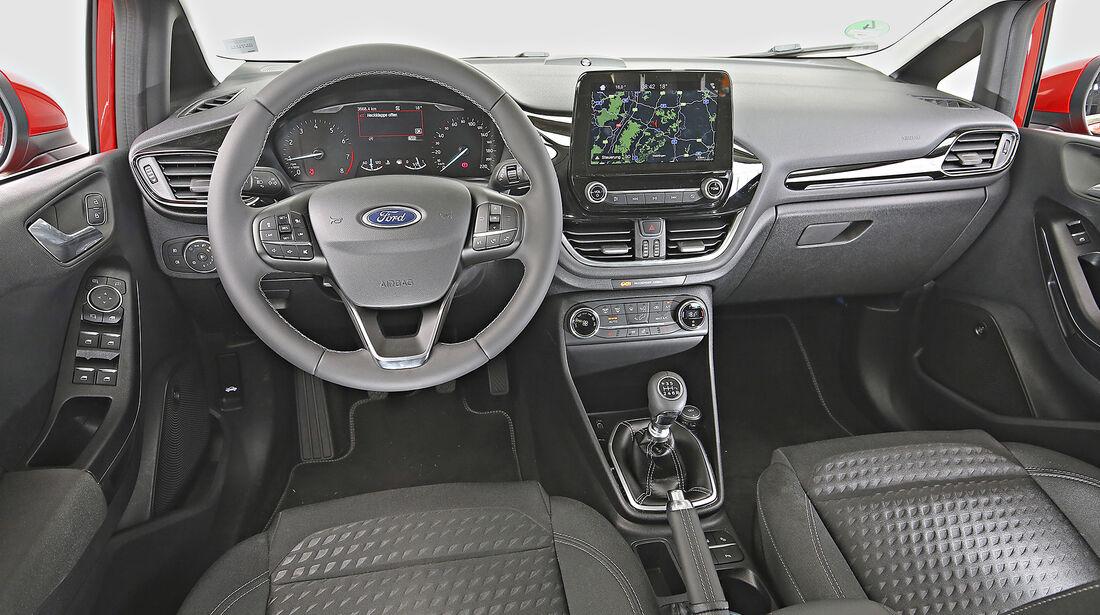 Ford Fiesta 1.0 Ecoboost, interieur