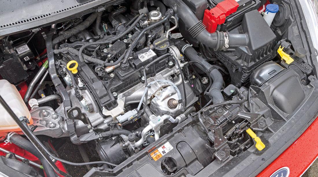 Ford Fiesta 1.0, Motor