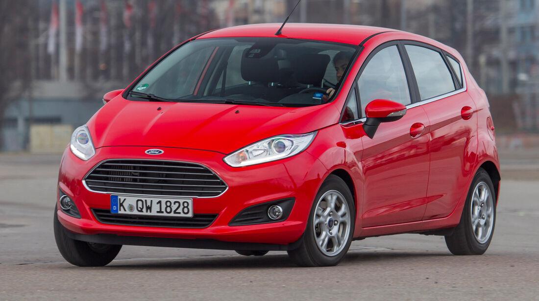 Ford Fiesta 1.0 Powershift Trend, Seitenansicht
