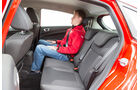 Ford Fiesta 1.0, Rücksitz, Beinfreiheit