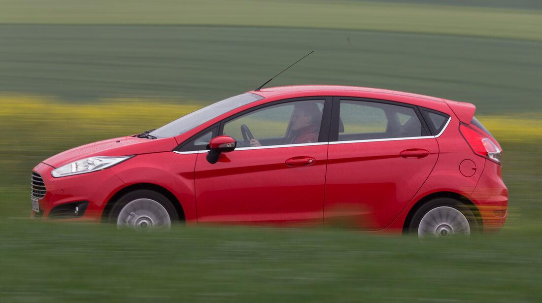 Ford Fiesta 1.0, Seitenansicht