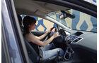 Ford Fiesta 1.4 im Innenraum-Check, Sitzposition