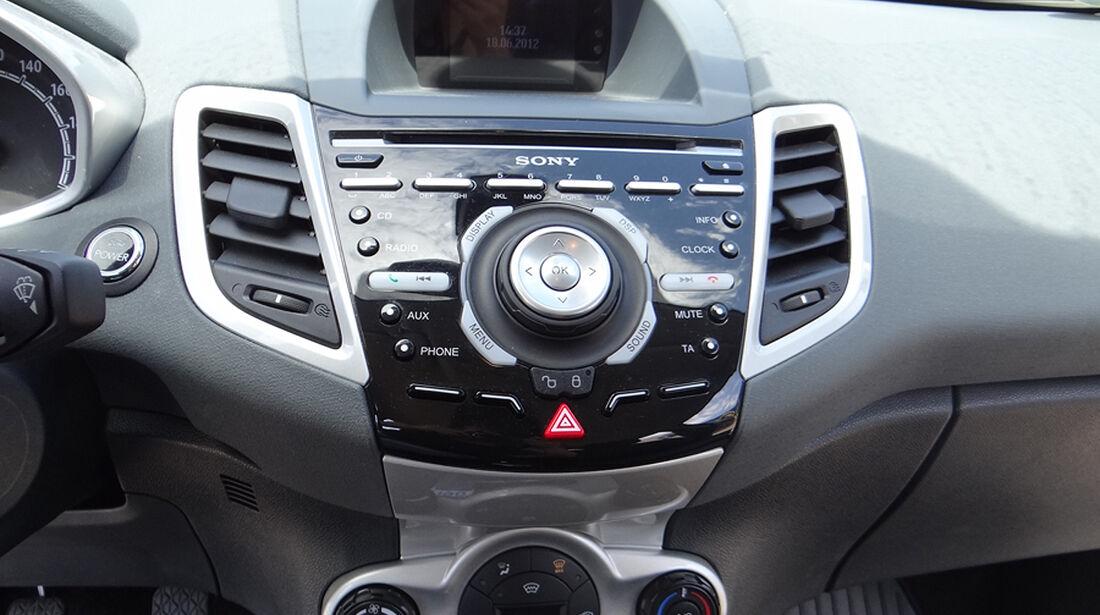 Ford Fiesta 1.4 im Innenraum-Check