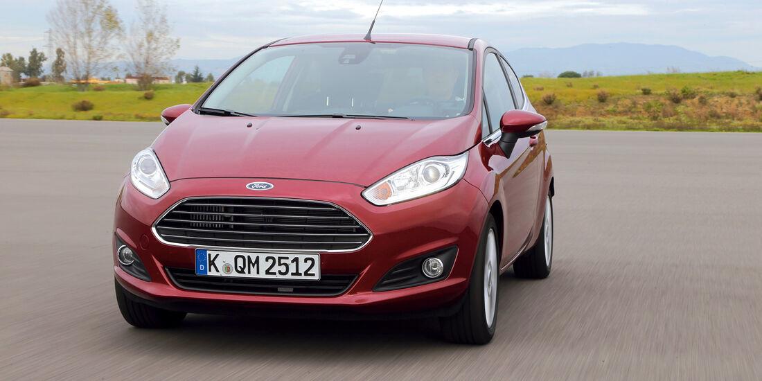 Ford Fiesta 1.6, Frontansicht