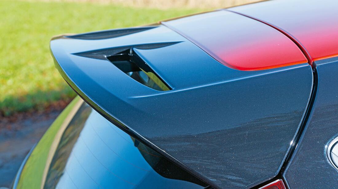 Ford Fiesta Black Edition, Dachspoiler
