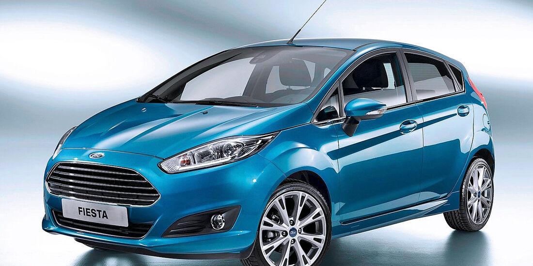 Ford Fiesta, Frontansicht