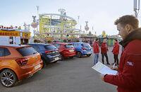 Ford Fiesta, Kia Rio, Opel Corsa, VW Polo, Exterieur Heck