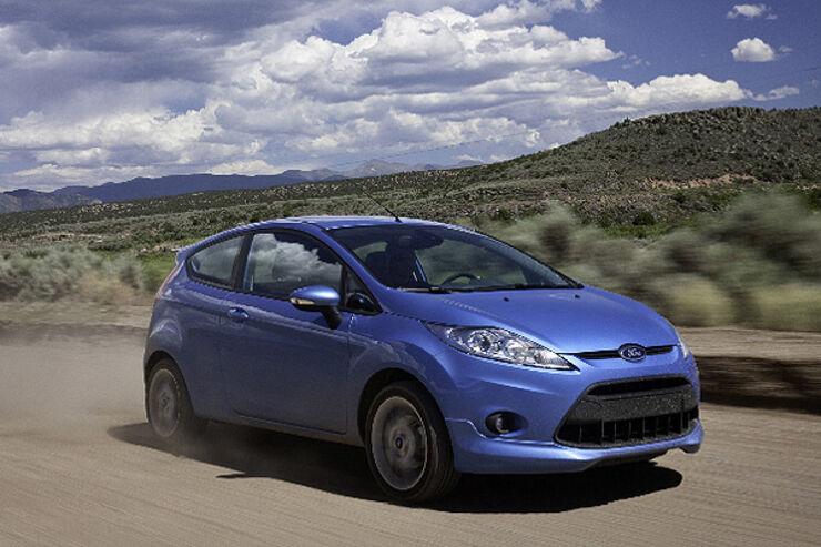 Ford Fiesta Pikes Peak