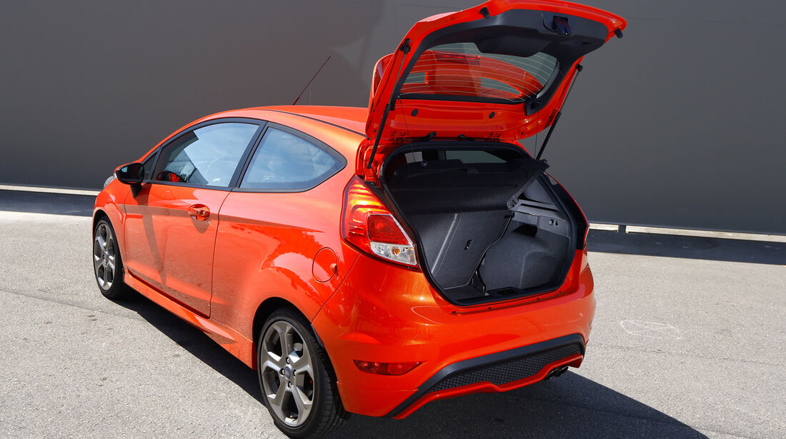 Ford Fiesta ST, Heckklappe, Kofferraum