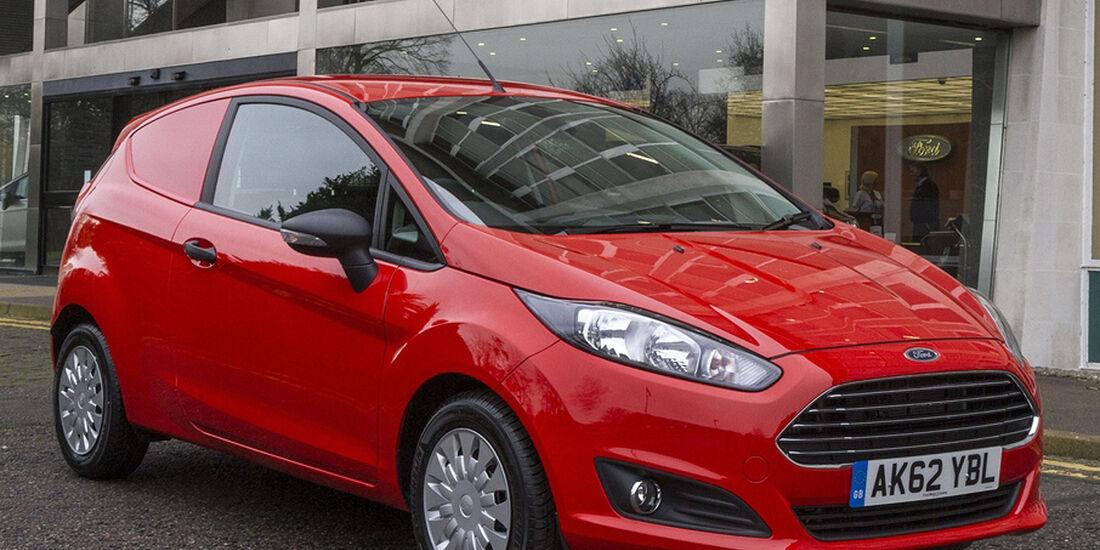 Ford Fiesta Van, 2013