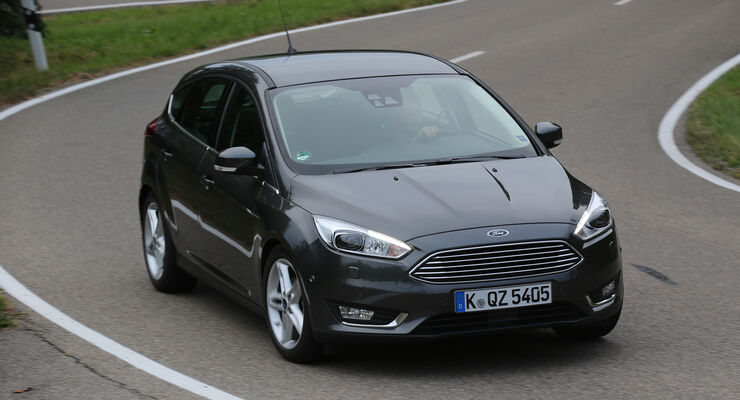 Ford Focus 1.0 Ecoboost, Frontansicht