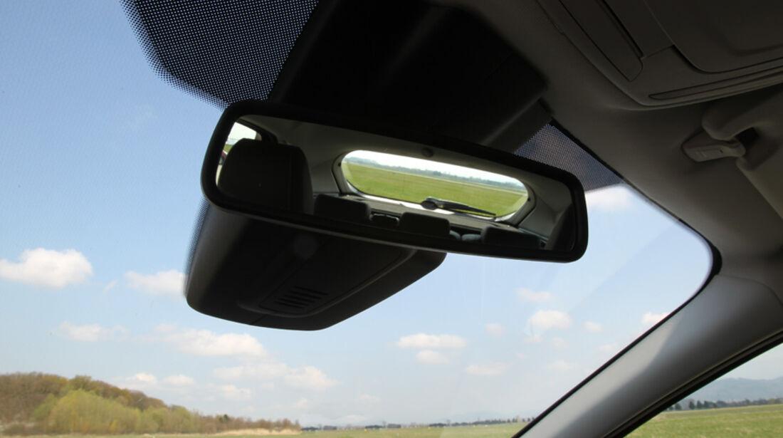 Ford Focus 1.6 Ecoboost, Rückspiegel