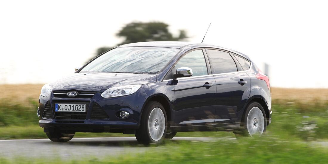 Ford Focus 1.6 Ecoboost, Seitenansicht