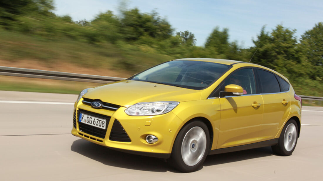Ford Focus 1.6 Ti-VCT, Front, Frontansicht