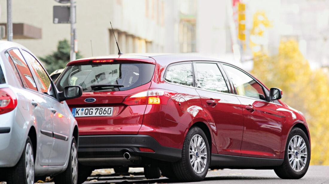 Ford Focus, Ausparken