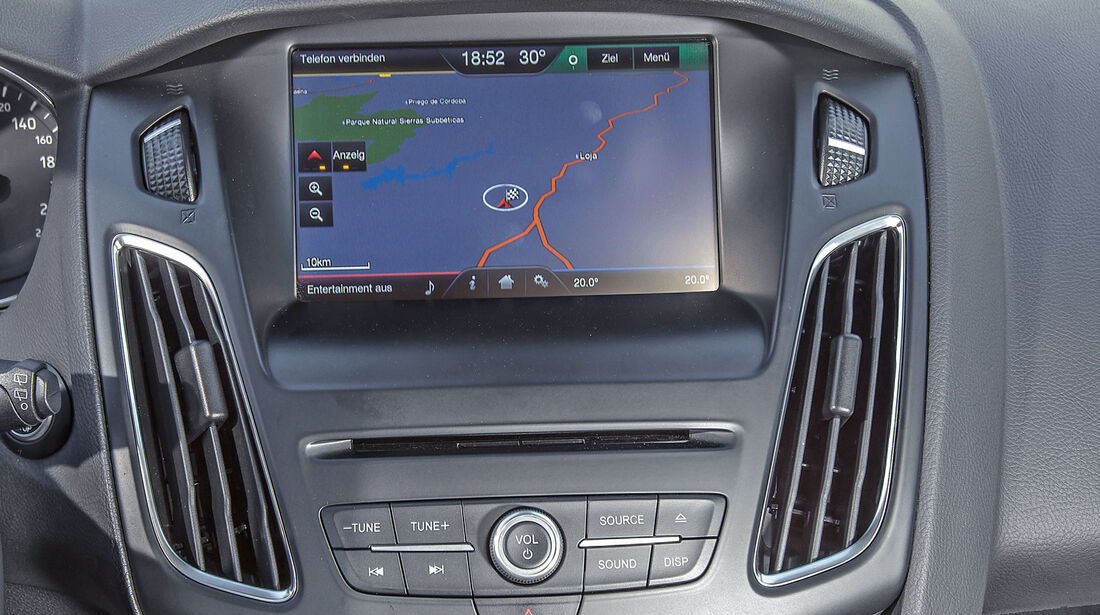 Ford Focus, Infotainment