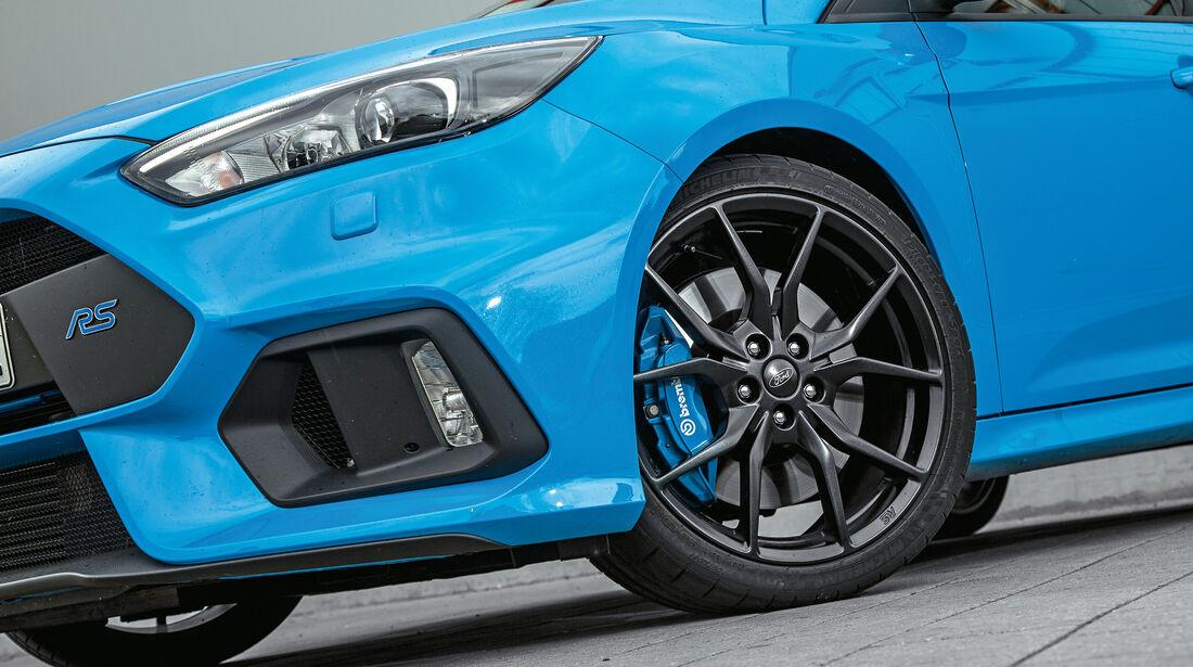 Ford Focus RS, Rad, Felge