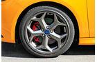 Ford Focus ST, Rad, Felge