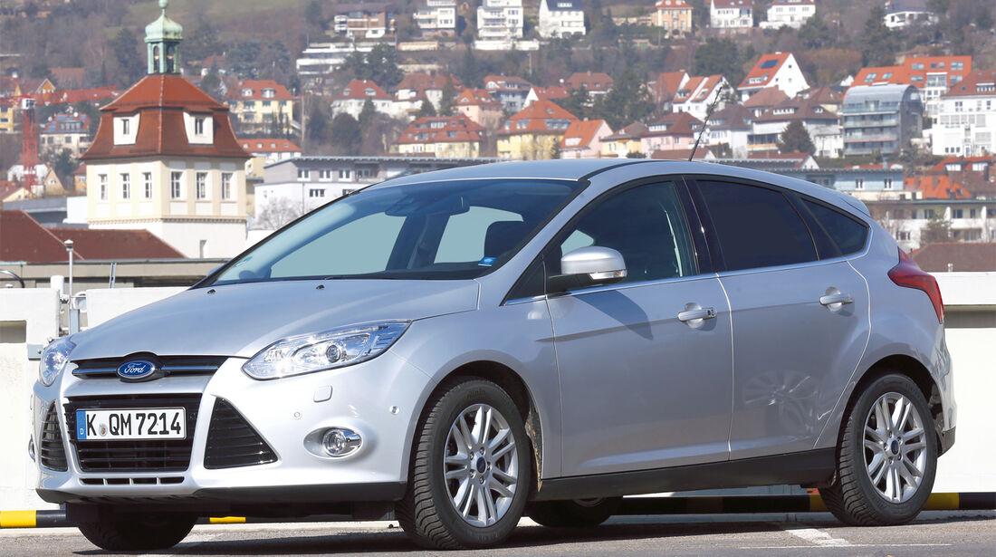 Ford Focus, Seitenansicht