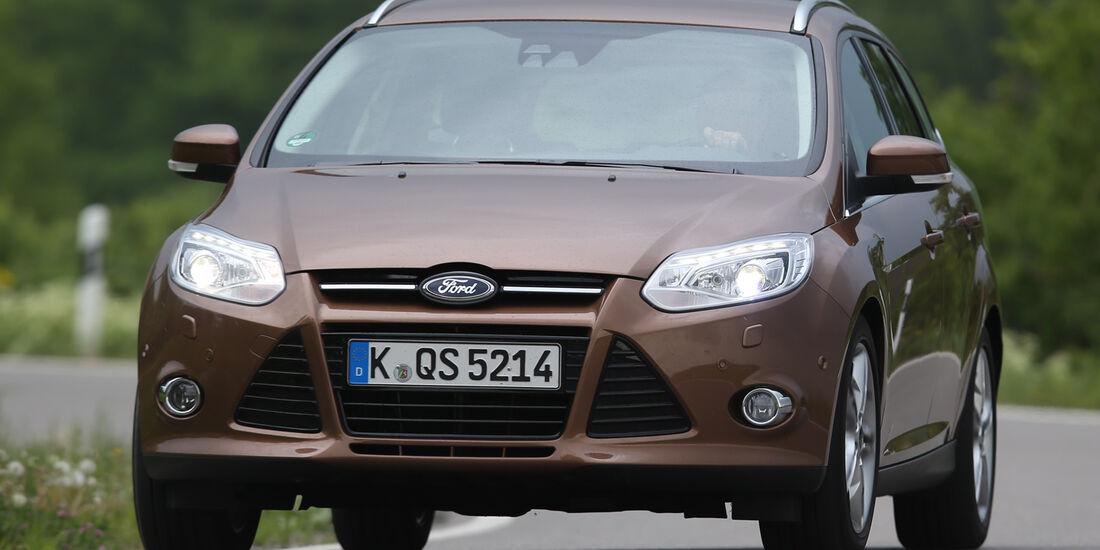 Ford Focus Turnier 1.0 EcoBoost, Frontansicht