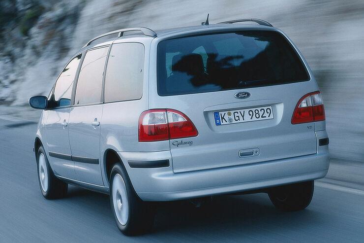 Ford Galaxy 95 00 Typ Wgr Technische Daten Auto Motor Und Sport