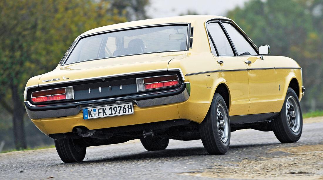 Ford Granada 2.0, Heckansicht
