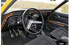 Ford Granada 2.0 l, Lenkrad, Cockpit
